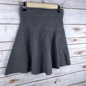Lush Gray Thick Structured Skirt